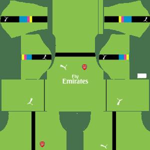 Arsenal Goalkeeper Third Kits 2016-2017
