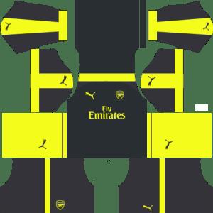 Arsenal Third Kits 2016-2017