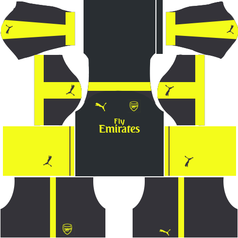 Arsenal Third Kits 2016-2017