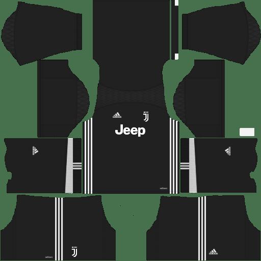 90ce090b461 Juventus 2018-2019 Kit & Logo - Dream League Soccer