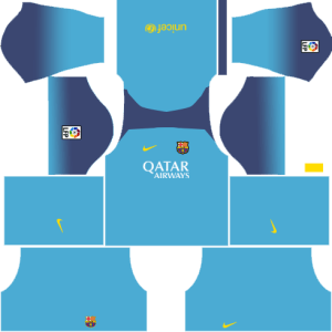 Barcelona Goalkeeper Away Kit 2013-2014