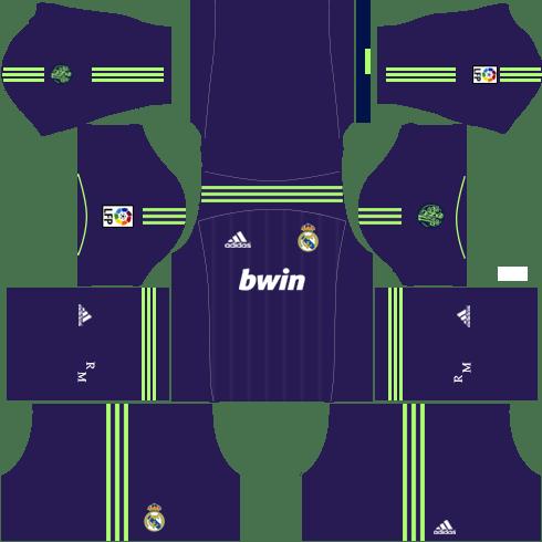 Real Madrid Away Kit 2012-2013