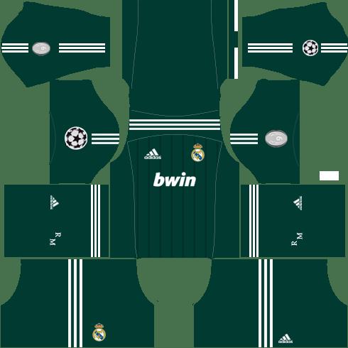 Real Madrid Champion League Kit 2012-2013
