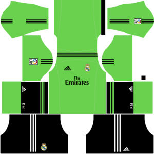 Real Madrid Goalkeeper Away Kit 2013-2014