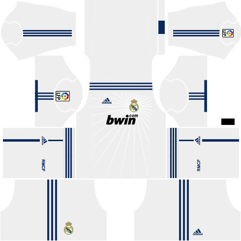 Real Madrid Home Kit 2010-2011