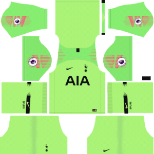 Tottenham GK Away Kit 2018-2019 Dream League Soccer