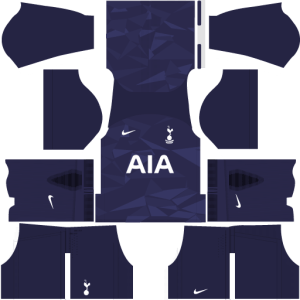 Tottenham Third Kit DLS 2017 - 2018