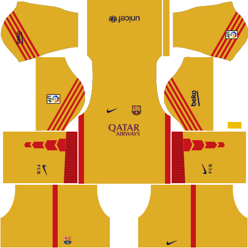 Barcelona Goalkeeper Third Kit 2015-2016