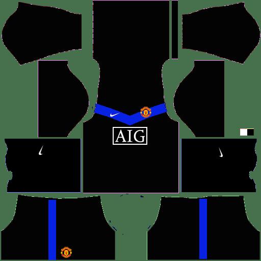 Manchester United Kits 2009-2010