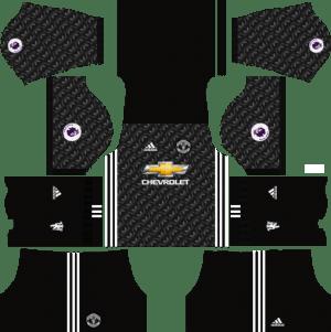 Manchester United Away Kit Dream League Soccer 2017-2018