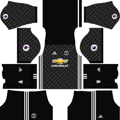 Manchester United Away Kit Dream League Soccer 2017-2018