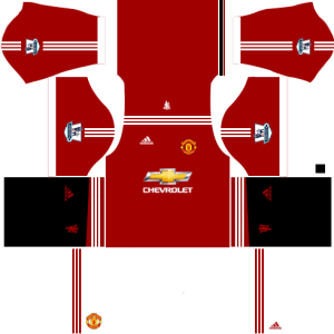 5114c35a8 Manchester United DLS Kits 2018-2019