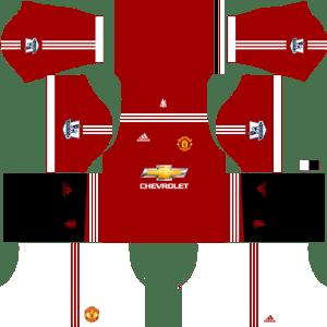 7bae66aa0 Manchester United DLS Kits 2018-2019