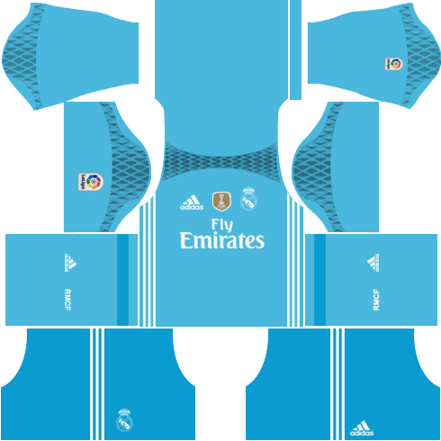 Real Madrid Goalkeeper Away Kit 2016-2017