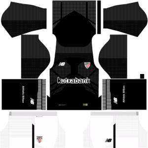 Athletic Bilbao Away Kit 17 - 18 DLS