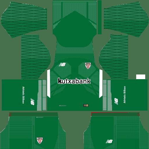 Athletic Bilbao GK Home Kit 17 - 18 DLS