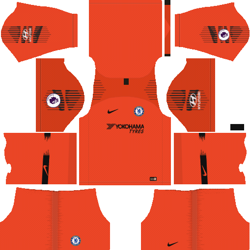 equipacion chelsea 2018 dream league soccer