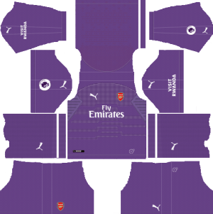 Dream League Soccer Kits Arsenal 2018-19 Goalkeeper Away URL 512x512