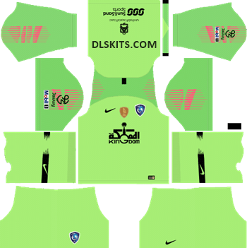 Al-Hilal FC Goalkeeper Away Kit 2019 - DLS Kits - Dream League Soccer URL 512x512