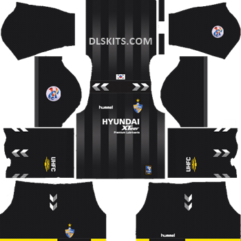 Goalkeeper AFC Ulsan Hyundai Away Kit 2019 - DLS Kits - Dream League Soccer Kits URL 512x512