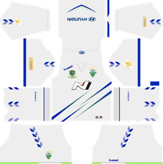 Jeonbuk Hyundai Motors FC Away Kit 2019 - DLS 19 Kits - Dream League Soccer Kits URL 512x512