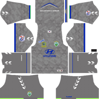 Jeonbuk Hyundai Motors Goalkeeper AFC Away Kit 2019 - DLS 19 Kits - Dream League Soccer Kits URL 512x512