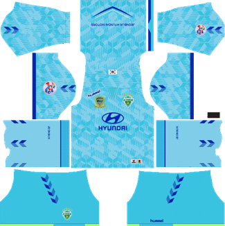 Jeonbuk Hyundai Motors Goalkeeper AFC Home Kit 2019 - DLS 19 Kits - Dream League Soccer Kits URL 512x512