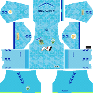Jeonbuk Hyundai Motors Goalkeeper Home Kit 2019 - DLS 19 Kits - Dream League Soccer Kits URL 512x512