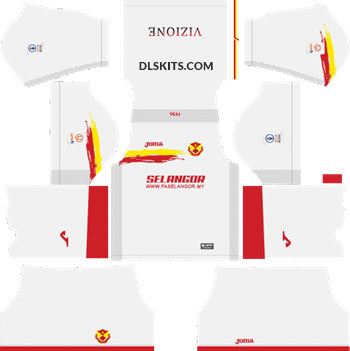 Selangor 2019 Kit Away - DLS Kits - Dream League Soccer Kits 5112x512 URL
