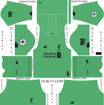 Dream League Soccer Kits Liverpool FC 2019-20 Goalkeeper Away Kit