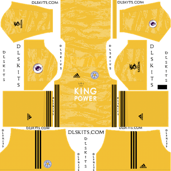 Dream League Soccer Kits Leicester City 2019-2020 Goalkeeper Third Kit