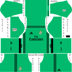 Dream League Soccer Kits Real Madrid 2019-20 Third Kit