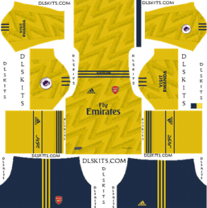 Dream League Soccer Kits Arsenal Away Kit 2019-20