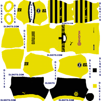 Borussia Dortmund 2020 Home Dream League Soccer Kits