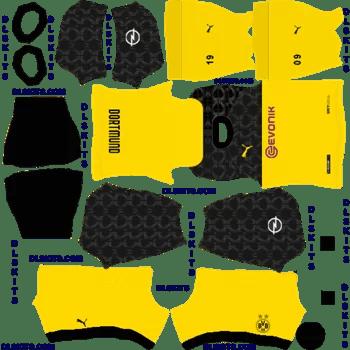 Borussia Dortmund 2020 Third Dream League Soccer Kits