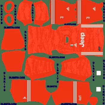 Juventus 2019 Goalkeeper Third Kit - DLS 19 Kits - Dream League Soccer Kits