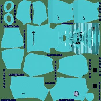 San Lorenzo Goalkeeper Home Dream League Soccer Kits 2020