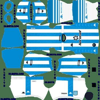 Racing Club 2020 Home Dream League Soccer Kits