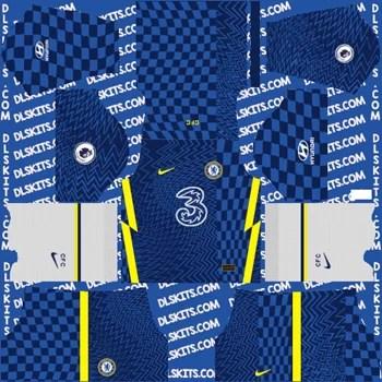 Chelsea F.C. 2021-22 Dream League Soccer Kits for DLS 2019