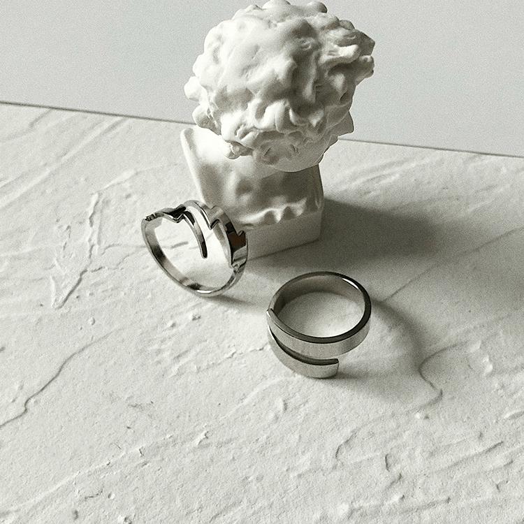 Кольца SAZ Studio Sliding Rings Lighting Ring & Band Ring