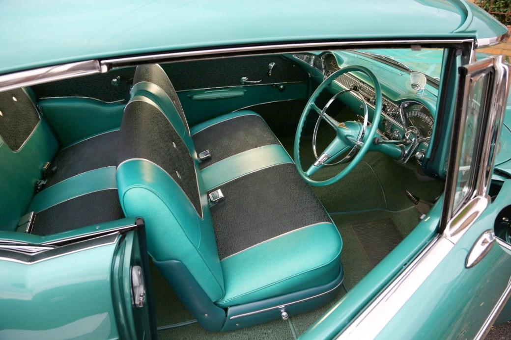 1957 Chevrolet, interior.