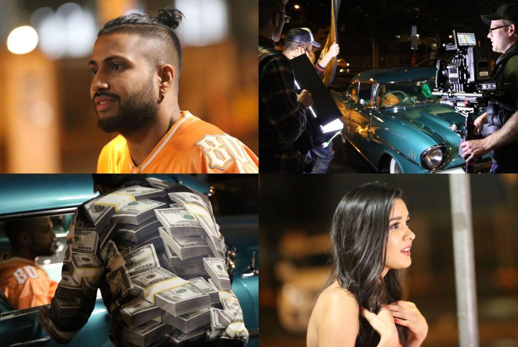 Sukh-e music video shoot.
