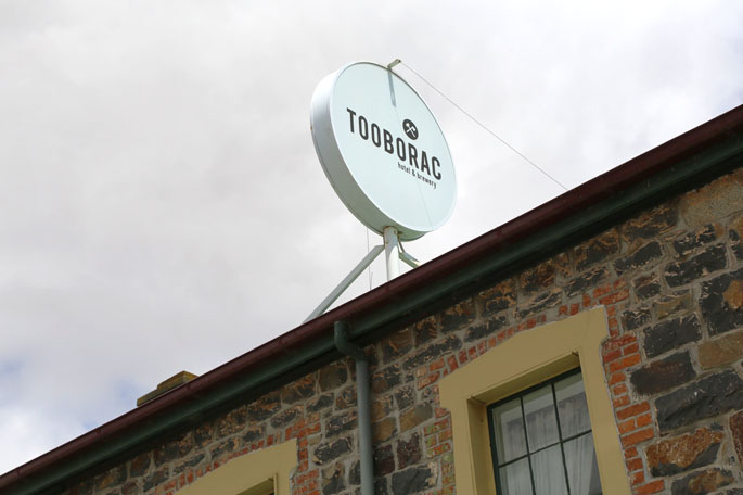 Tooborac Hotel and Brewery.