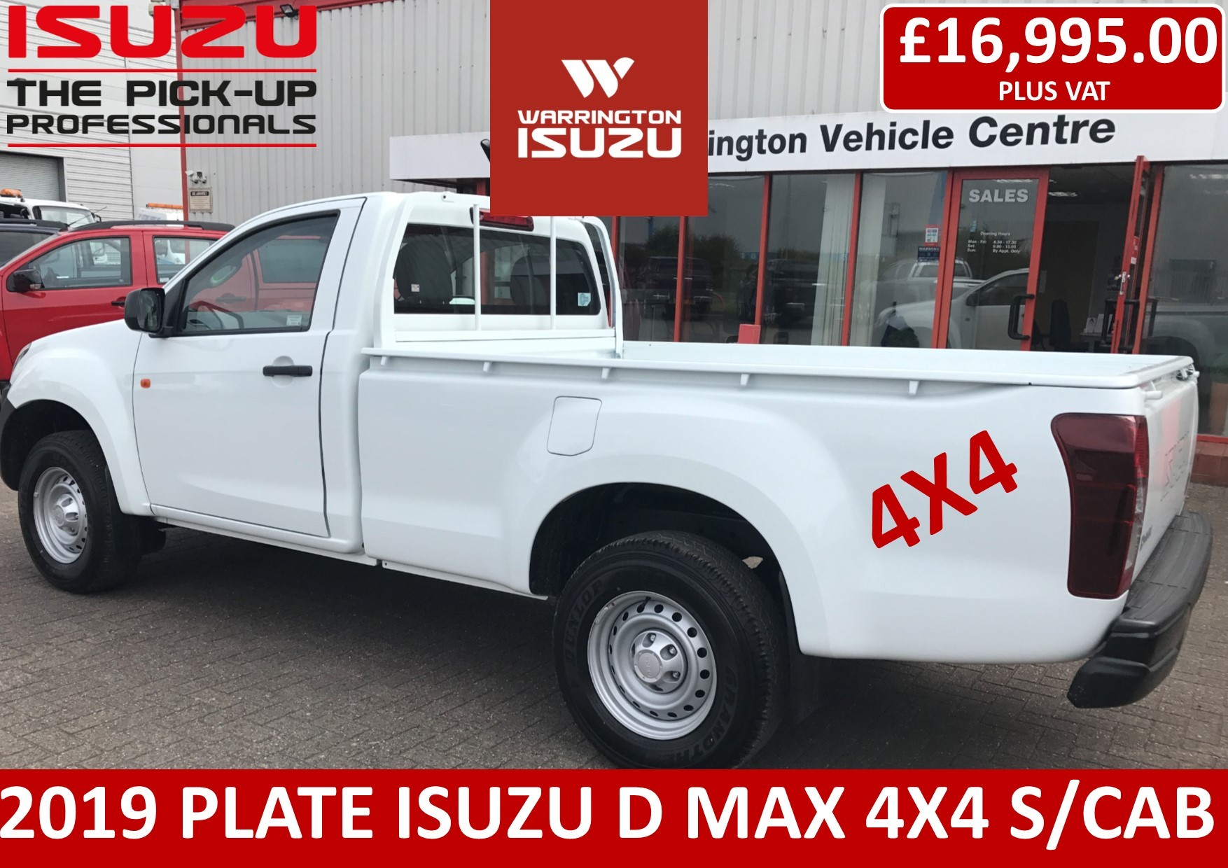 hight resolution of 2019 isuzu d max 1 9 single cab 4x4 delivery miles