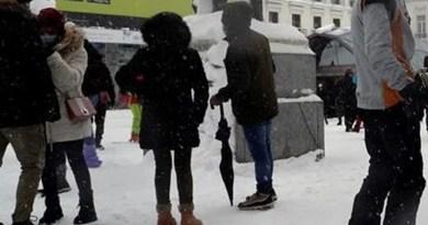 El día que la nieve sepultó España