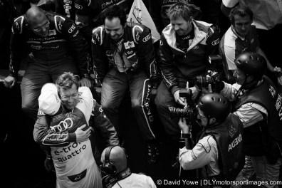 We won (Le Mans, France)