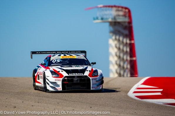 #05 Always Evolving Racing Nissan GT-R-GT3 (COTA, Austin, Texas, USA)