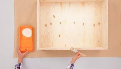 fabriquer un tiroir de rangement