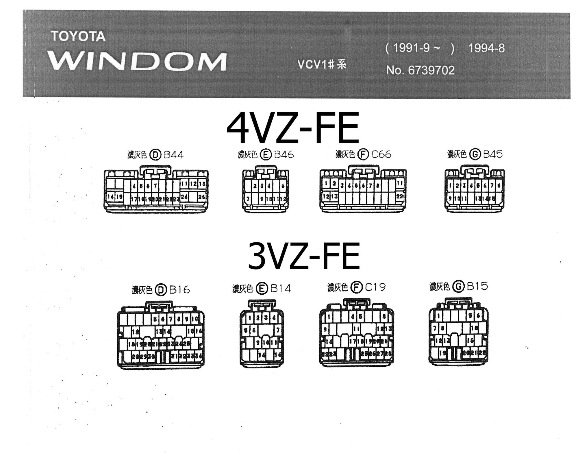 hight resolution of  wiring diagram toyota windom 1991 9 1994 8 tk toyota power window wiring diagram toyota windom wiring diagram