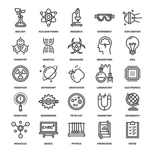 Abstract vector collection of line healthcare and medicine